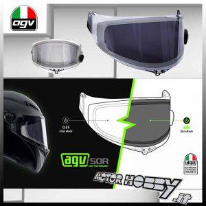 Visiera Shield Per Casco Integrale Visiera Faceshield Per AGV K3 K4 I Caschi Per Moto Sostituiscono Il Gruppo 1