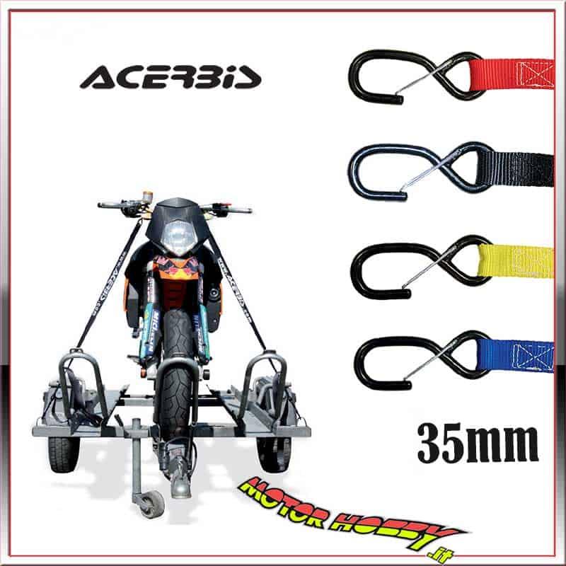 Acerbis CINGHIE FERMA Moto 25MM Nero