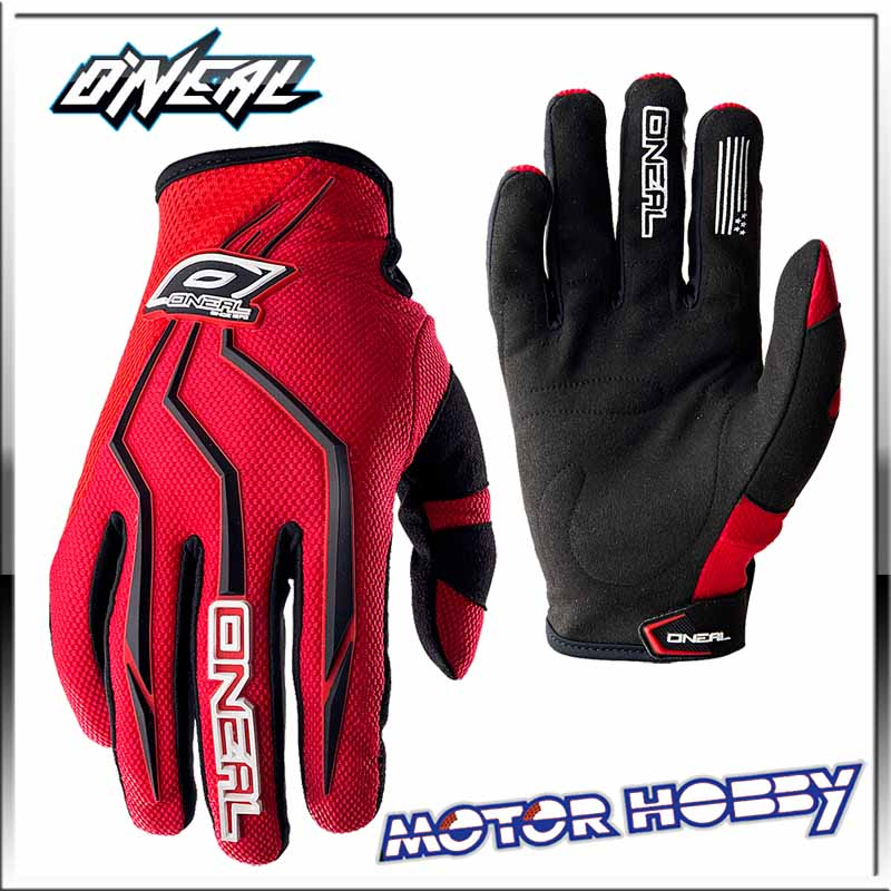 guanti oneal  GUANTO CROSS ENDURO ONEAL ELEMENT O'NEAL RED BLACK – Motorhobby