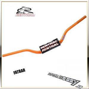 /Grigio Titanio Renthal fatbar Manubrio 28.6/mm/