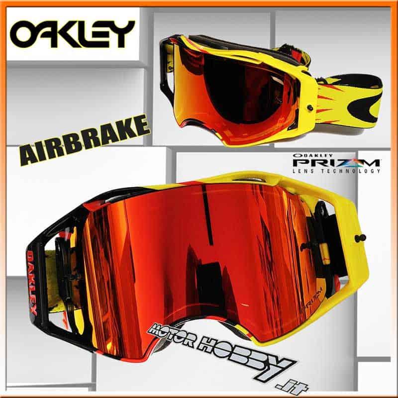 Maschera Red Enduro Oakley Mx Prizm Airbrake Cross Voltage High 7ZO7gqv