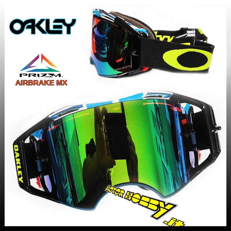 e44e1fc554 MASCHERA CROSS ENDURO OAKLEY AIRBRAKE MX CHAD REED SPEED STRIPE PRIZM MX  JADE