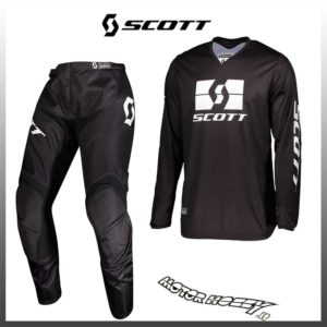 Completo motocross 2019 Shift Whit3 MUSE GRIGIO enduro quad
