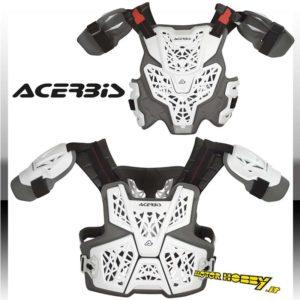 Pettorina Motocross BODY ARMOUR GALAXY Bianco-Blu Acerbis S M